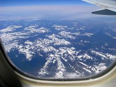 Somewhere over British Columbia