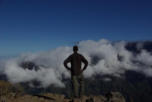 Contemplando un mar de nubes