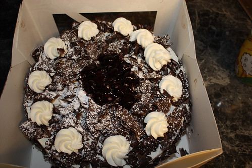 traditional Bavarian-style Black Forest Cake