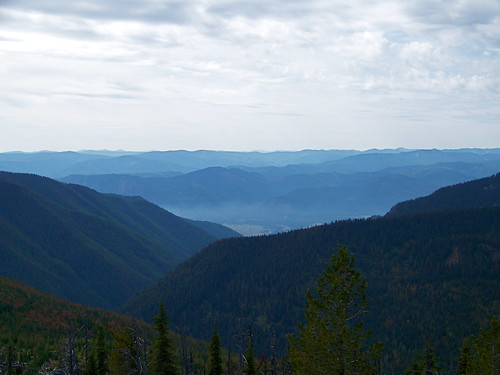 Clark Fork Valley from Vermilion Peak