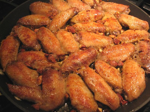 Almond Chicken Wings