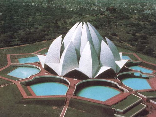 Lotus Temple Delhi by easy_destination.