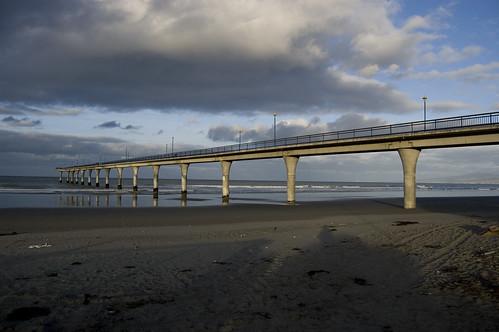New Brighton Pier, New Zealand by Steph Jennings