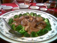 Blue Splendour dinner 4