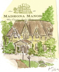 madrona manor near healdsburg