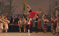Don Quixote Single hand lift in Act I