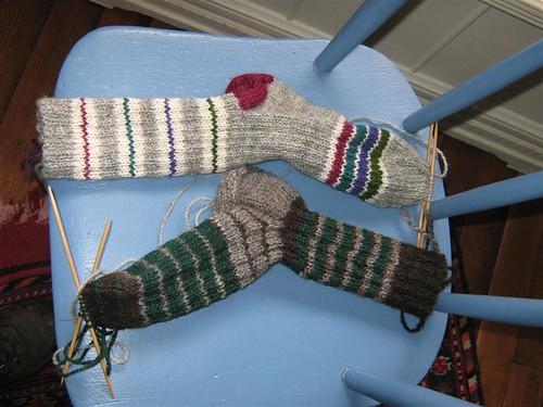 Miami sock and PNW sock