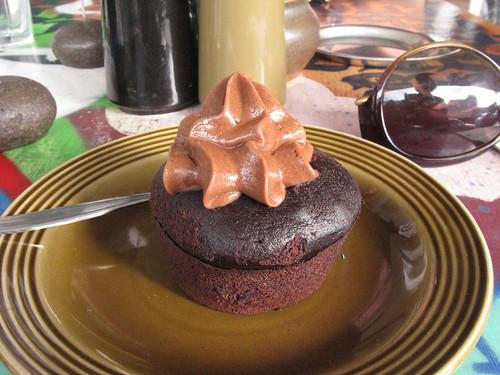 afternoon cupcake