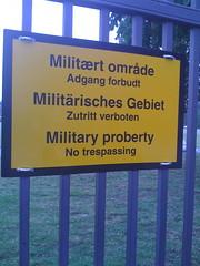 Military typo