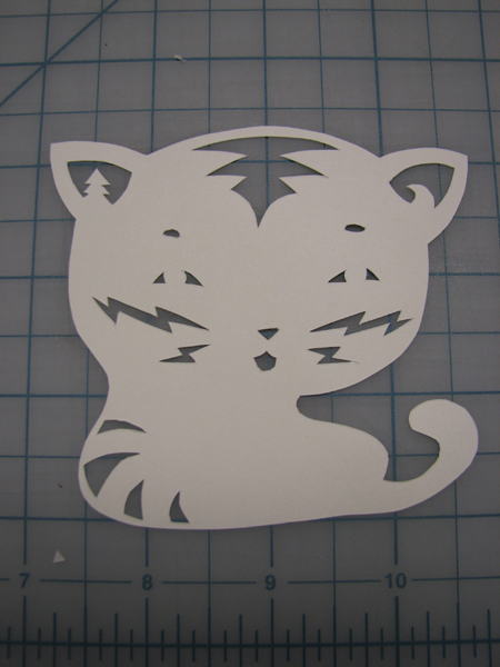 Kitty cut-out