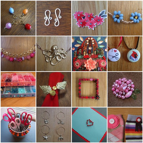 sixteen of my craft projects on CraftStylish!