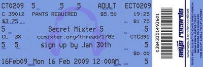 ccMixter Secret Remix #5