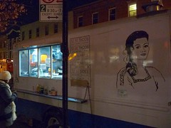 Taco Truck in Williamsburg, Brooklyn