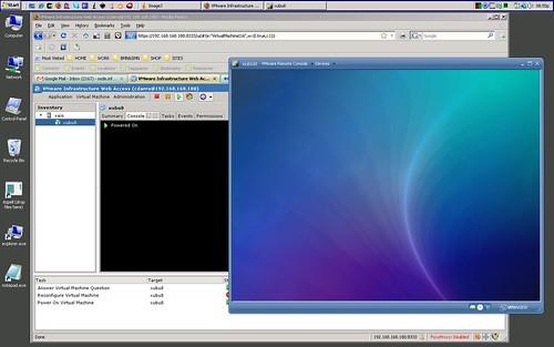 ubuntu vmware server host xubuntu guest