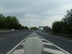 in the A57(M)