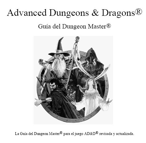Partidas de Pepe: Advanced Dungeons & Dragons 2nd Ed