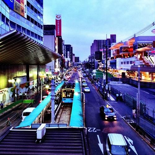 久々に天王寺駅前駅から。今日も一日、お疲れ様でした。#evening