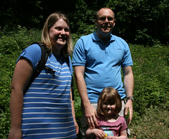 Rob, Katie and Milly