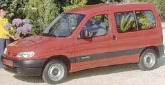 A Citroen Berlingo yesterday. Maybe.