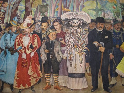 Mexico in pictures 2 murals itinerant londoner for Diego rivera first mural