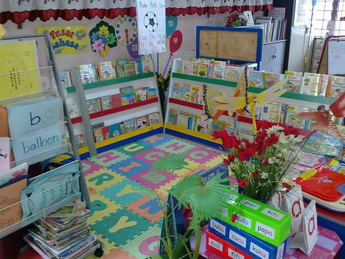 Perpustakaan Mini di Pra Bestari