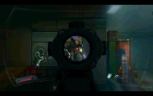 Because of Halo, every FPS has melee. Because of COD 4, every FPS has a scope/ironsight button...