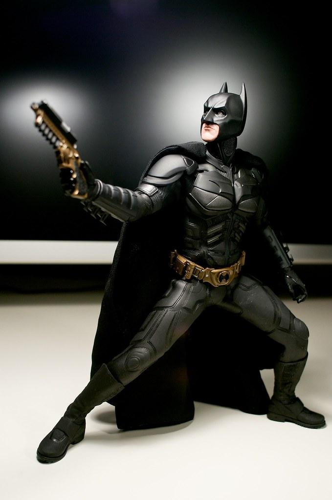 The Dark Knight Guards My Desk