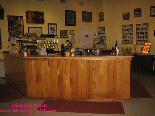 Lost Creek Winery Tasting Room Counter