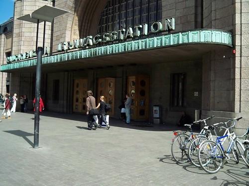 City Central Railway Station-Helsinki