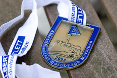 The finishers medal