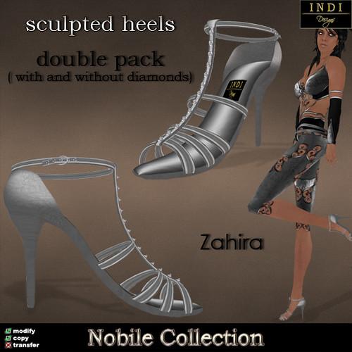 """Nobile """"Zahira"""" heels"""