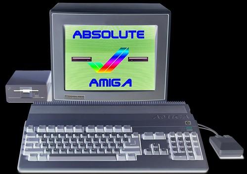 Absolute Amiga vol.1 Cover