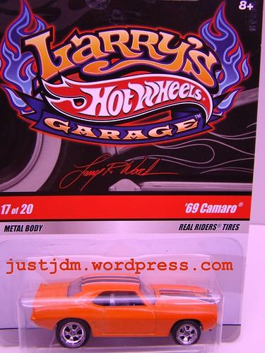 Larrys Garage 69 Camaro