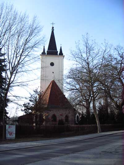 Church in Stralau, Berlin. Photo: Ulla Hennig