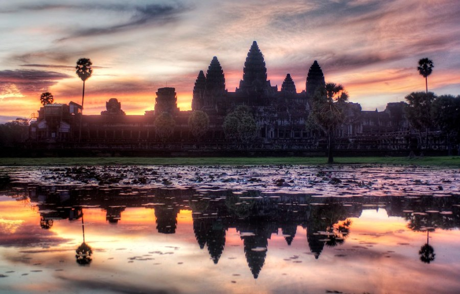 The Sunrise in Siem Reap (by Stuck in Customs)