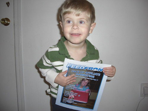 Jack is excited about the @connieberg issue of FeedFront Magazine