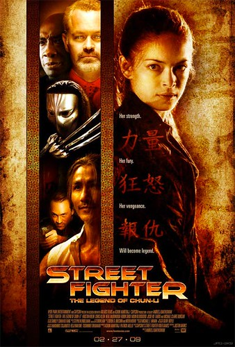 street fighter poster by you.