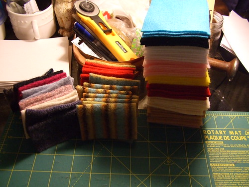 Needle Books in Progress