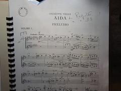 Aida Primo violino.