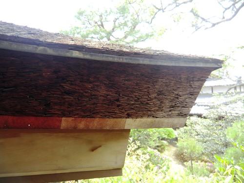 Pressed Cypress Bark Roof