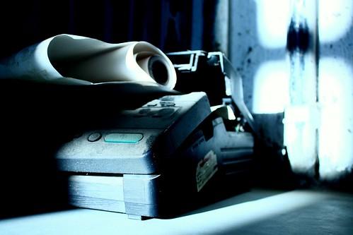 Abandoned Fax Machine by Abhisek Sarda, on Flickr