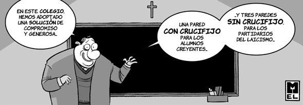 La religión en los colegios
