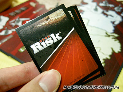 The new Risk cards