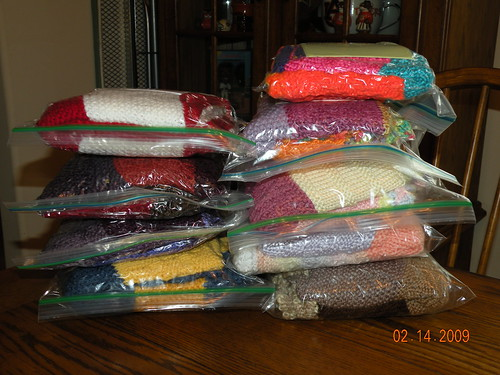 Worsted Weight Blankets
