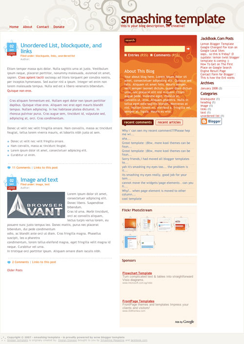 3293015928 64b1ae628e o 50 (Most) Beautiful Blogger Templates blogger এর জন্য আরো ২৫টি জটিল টেম্পলেট [ডেমো সহ]
