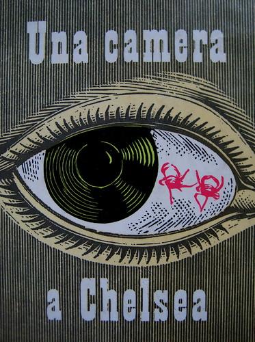 Anonimo (Michael Nelson), Una camera a Chelsea, Longanesi 1958, copertina (part.) 3