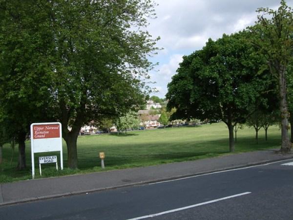 Nice park, crap name