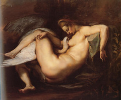Leda And The Swan by Peter Paul Rubens-1600