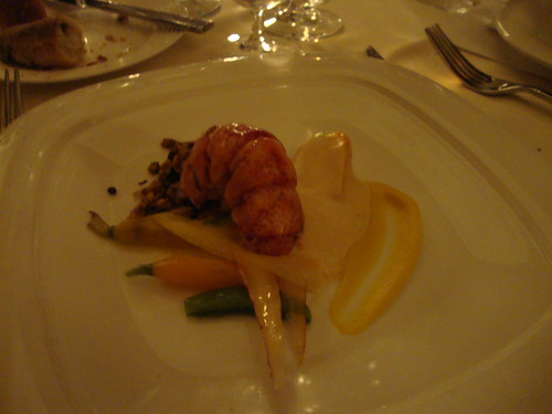 3rd Course:  Nova Scotia Lobster