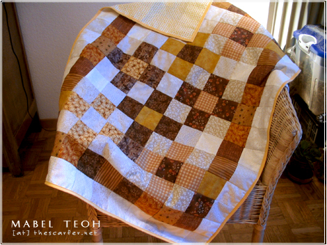 Quilt #2: Fresh from the oven